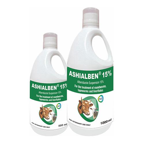 Ashialben 15 Suspn 1000ml